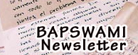 Bapswami.de newsletter vrinda